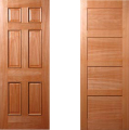 Steamed Beech Doors